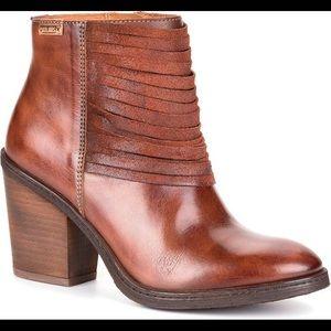 Pikolinos Alicante Ankle Mid Heel Boot